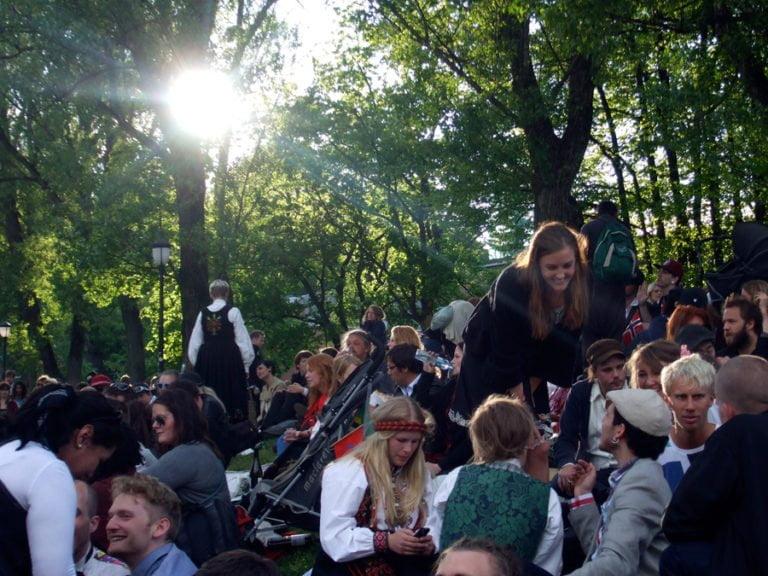 SOS Rasisme 17.mai at Kubaparken, Oslo