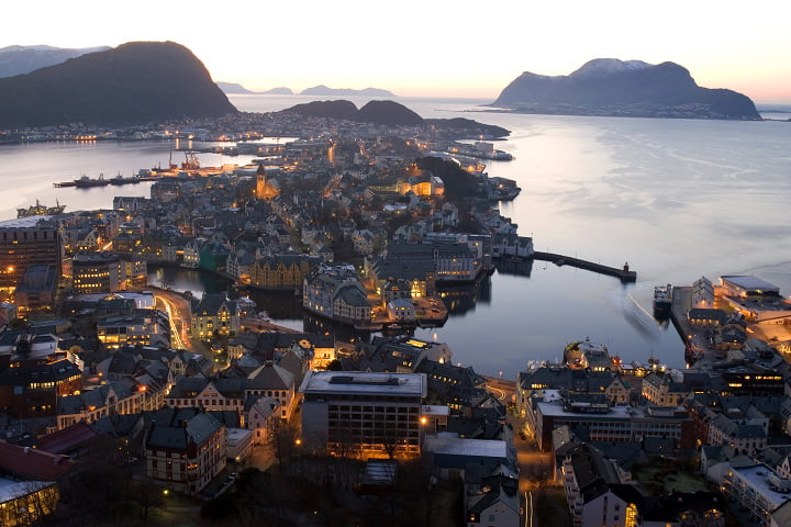 Ålesund - picture from Wikipedia