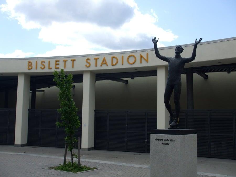 Bislett Stadium in Oslo