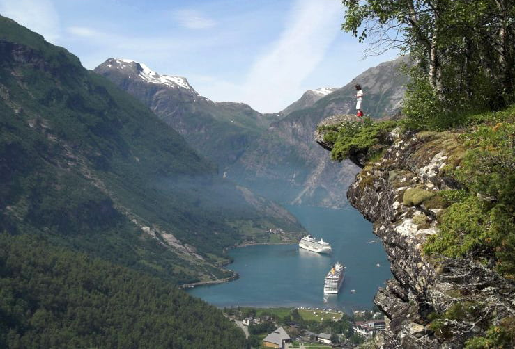 Geirangerfjord - picture from Wikitravel