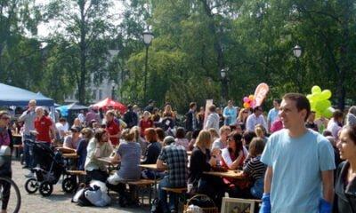 Summertime fun in Oslo