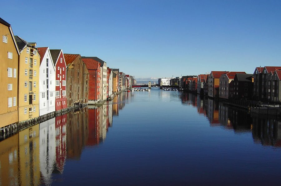 Trondheim - picture from Wikipedia