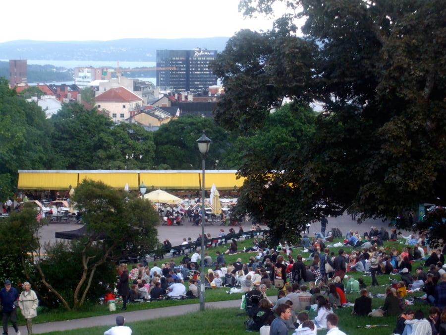 Midsummer's Night in St. Hanshaugen Park