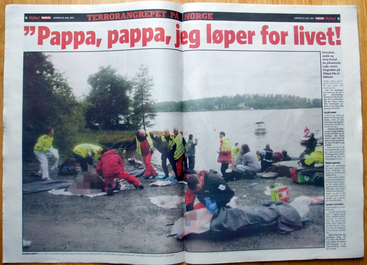 Inside Norwegian newspaper Dagbladet