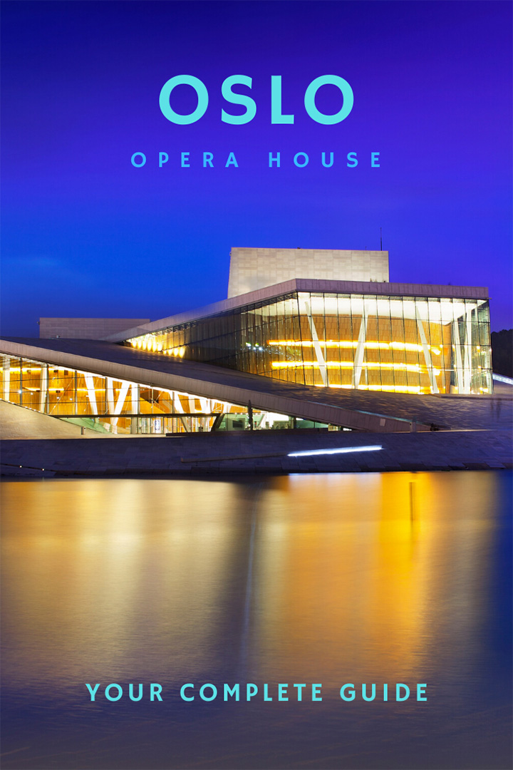 Oslo Opera House in Norway