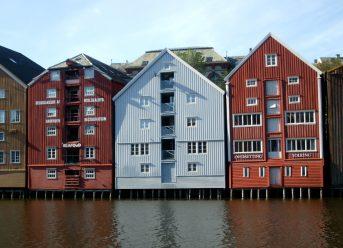 Trondheim Sentrum, Norge