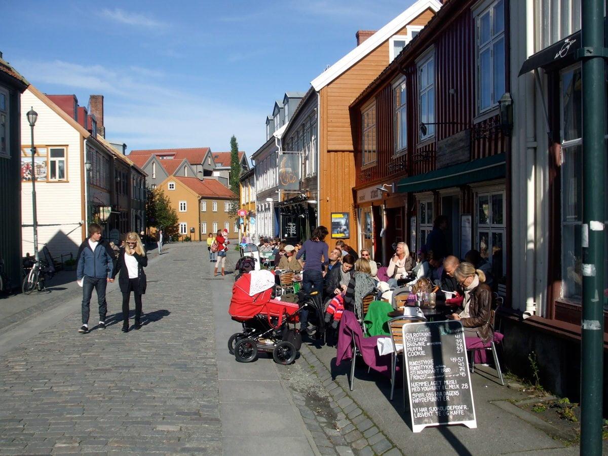 A street in Trondheim