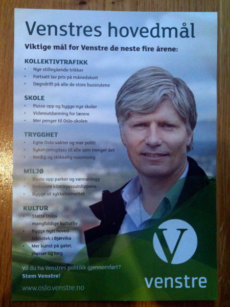 Valg 2011 – Norway Goes To The Polls