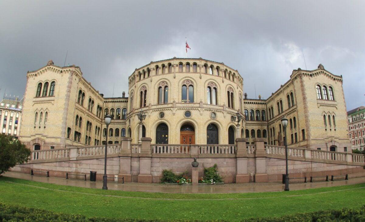 Stortinget in Oslo