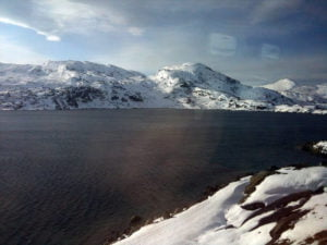 View from the Oslo to Bergen railway