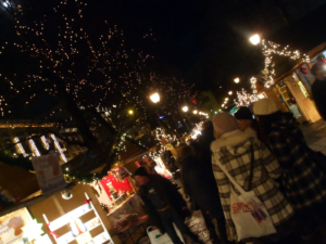 Christmas market on Karl Johans gate, Oslo