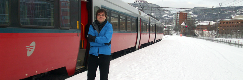 Me at Lillehammer Station