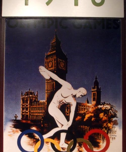 London 1948 Olympics poster