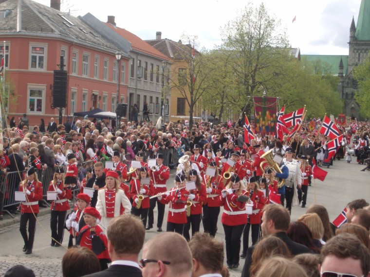 Norwegians celebrate their National Day on 17th May