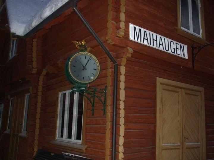 """Maihaugen """"train station"""""""
