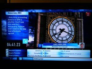Transfer Deadline Day on TV2 Zebra
