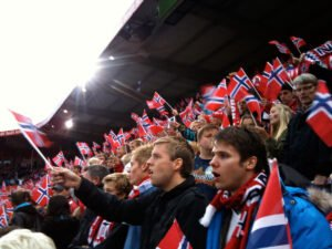 Norwegian football fans