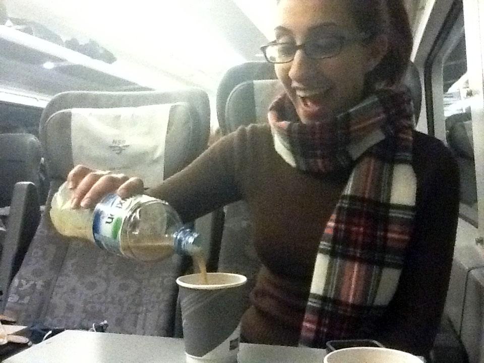 Simarjeet, Baileys and hot chocolate