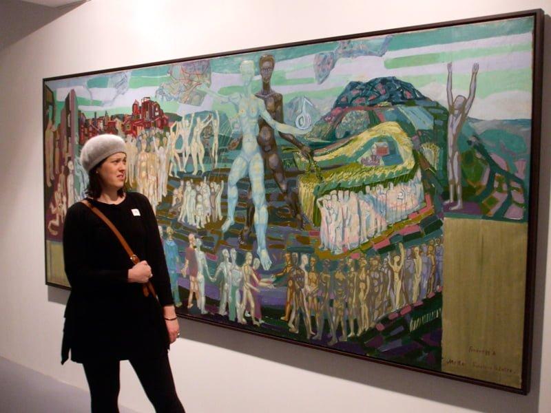 Nicola at Bergen Art Museum