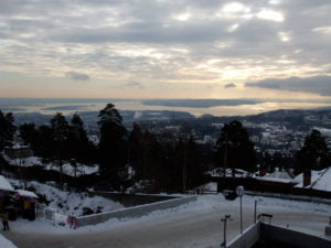 Coldest day of the year in Oslo so far