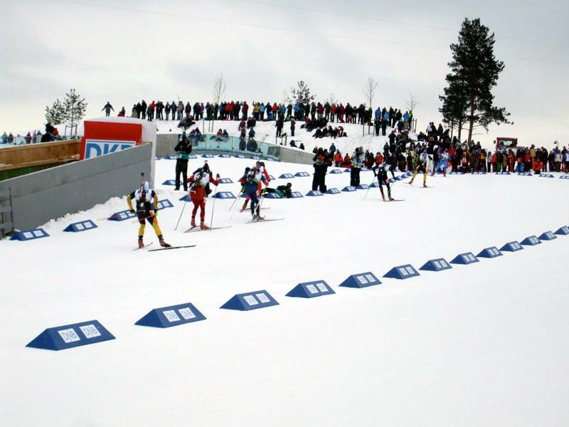 Biathlon World Cup in Oslo 2012