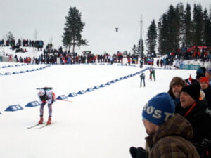 Biathlon Pursuit in Oslo