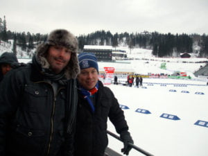 Brian and Joe at Holmenkollen