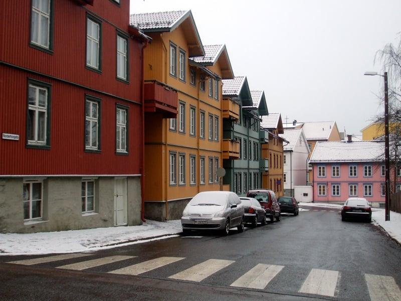 A street in Kampen, Oslo