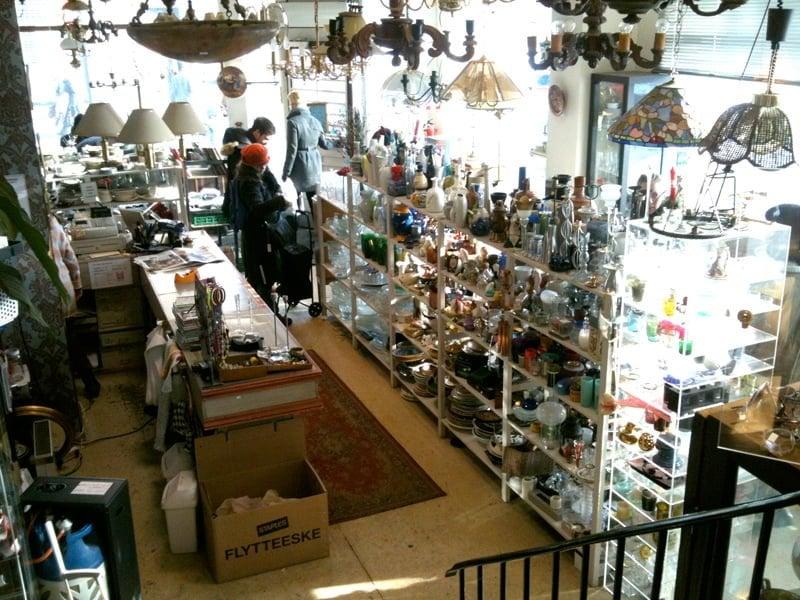 Inside Marita Butikken