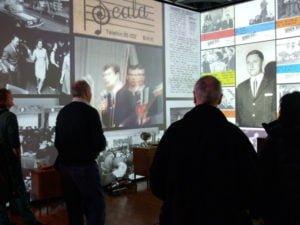 Exhibit inside Rockheim