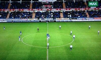 Molde v Strømsgodset kick-off