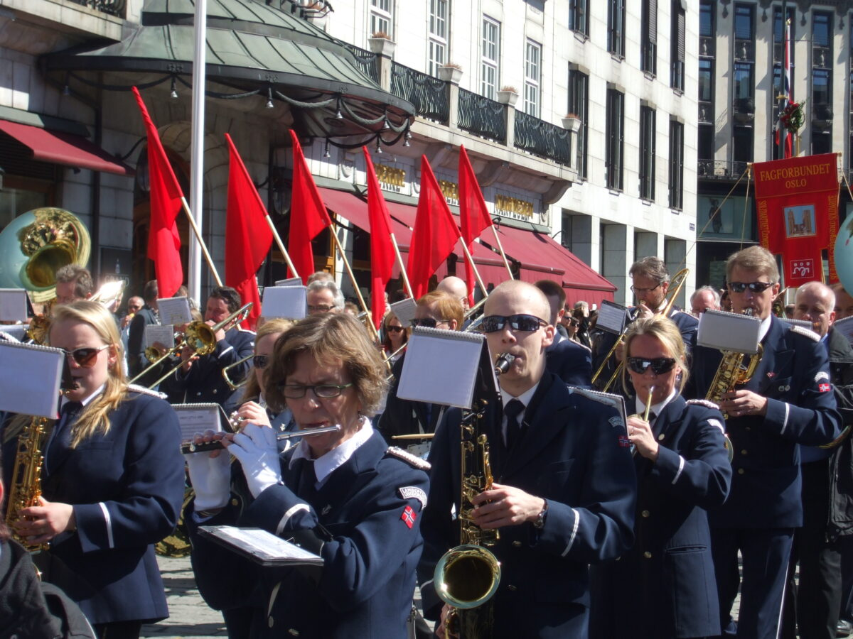 Labour Day parade 2012 in Oslo