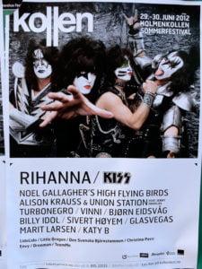 Kollen festival poster from Norway