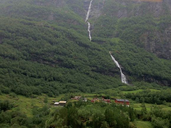 View from Flåmsbana, Norway