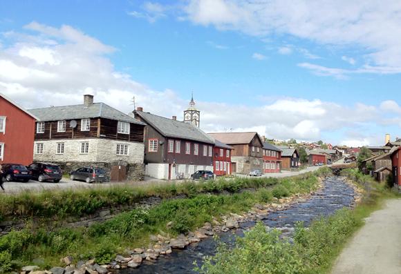 View of Røros