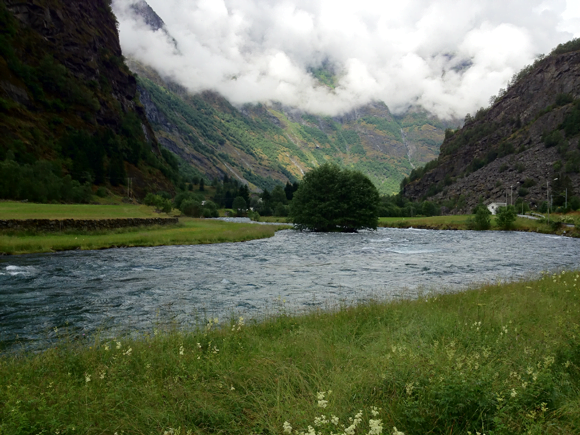 Flåm valley