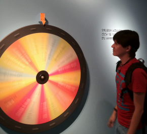 Gerry spins the wheel