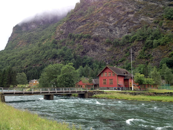 Flåm village, Norway