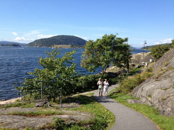A walk along the Oslofjord