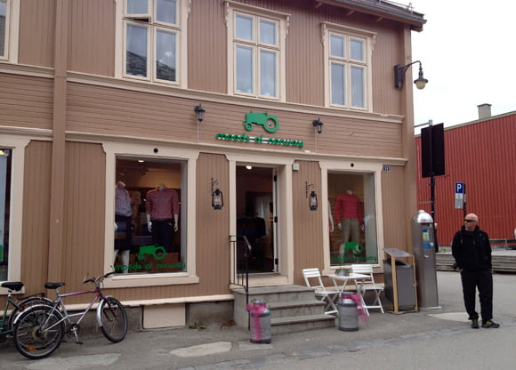 Moods of Norway store in Røros