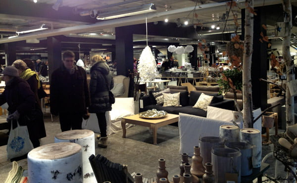 Interior Design store at Bærums Verk