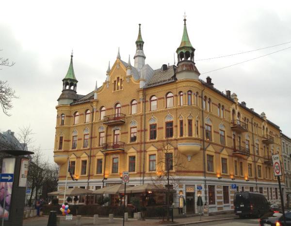 Exterior of Bygdøy Alle hotel