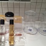 Complimentary toiletries in the bathroom