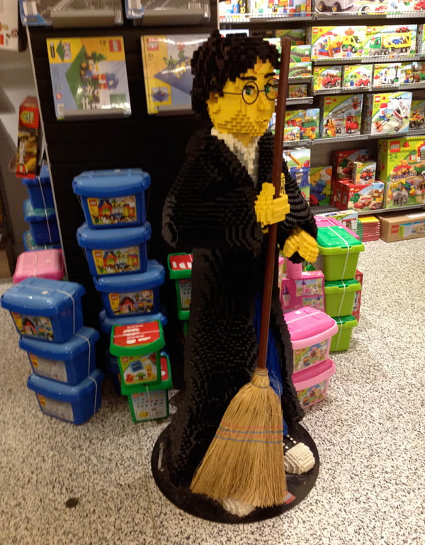 Lego Harry Potter in Outland