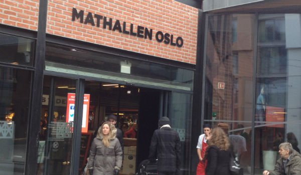 Entrance to Oslo Food Hall