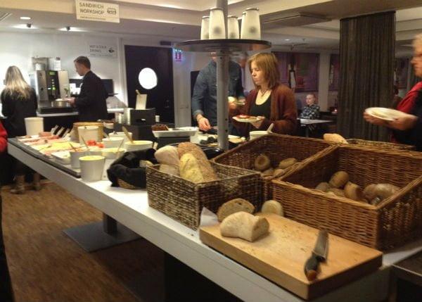 Breakfast room at Rica Kungsgatan
