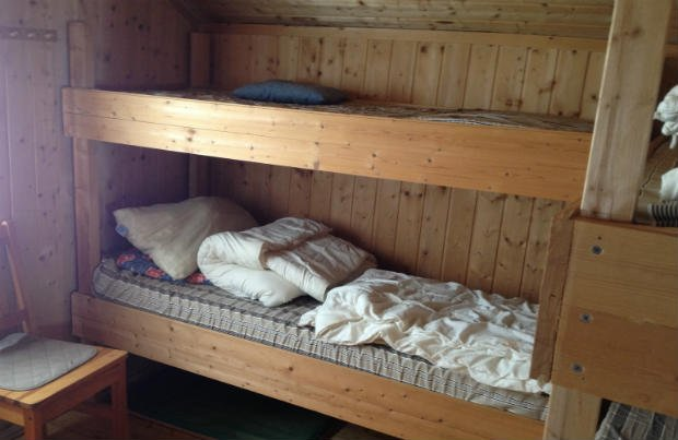Bedroom in the cabin