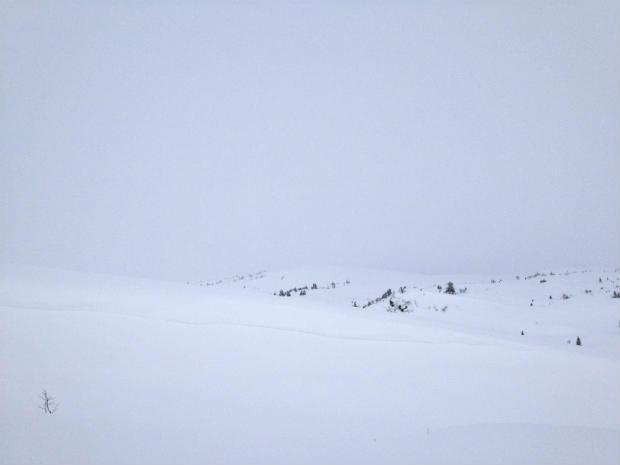 Snow blindness danger