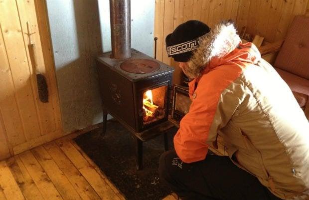 Hytta wood burner