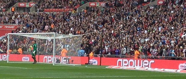 Cobblers fans at Wembley